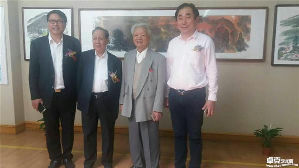 程曙东与郭公达老师、李夜冰老师合影